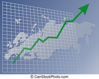 evropa, graf, up