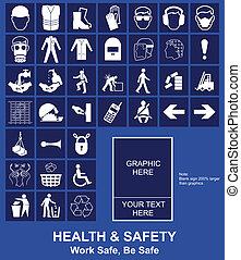 firma, bezpečnost, zdraví