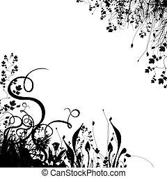 Floralské pozadí č.2