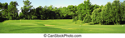 Golfská panorama