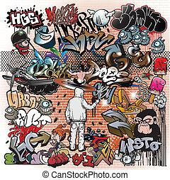 Graffitiské umělecké prvky