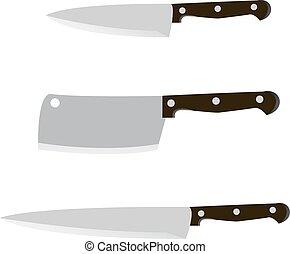 grafické pozadí., nůž, vektor, neposkvrněný