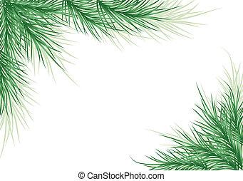 grafické pozadí, vektor, strom, vánoce
