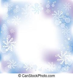 grafické pozadí, vektor, zima, vánoce