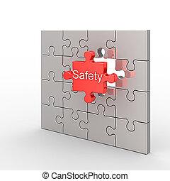hádanka, bezpečnost