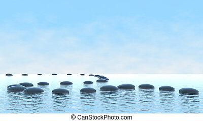 Harmony. Ponoř na vodu