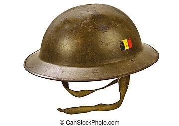 helma, osamocený, jeden, společnost, neposkvrněný, válka
