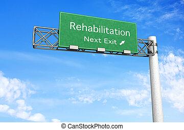 highway poznamenat, rehabilitace, -