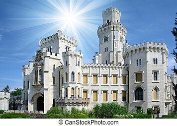 Hluboka hrad - krásný kraj