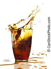 Hnědý nápoj