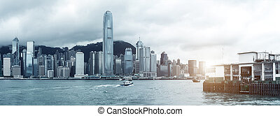 Hong Kong Viktoriský přístav