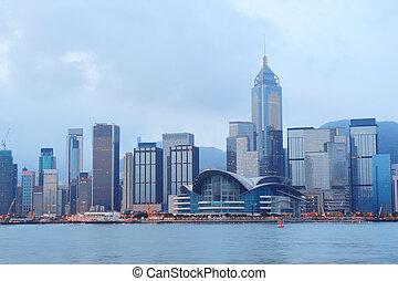 hongkong, ráno