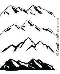 hora špice, sněžný