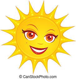 Horký letní slunce