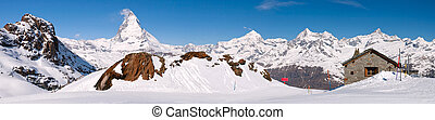 Horní krajina Matterhorn