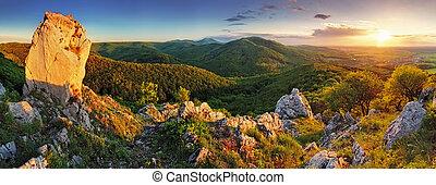 Horská panorama