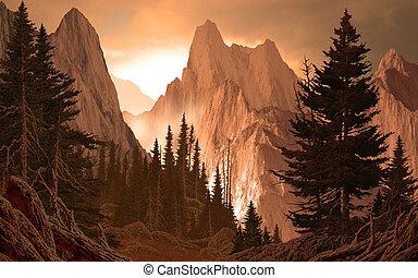 Horské kaňony