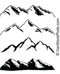 Horské vrcholy