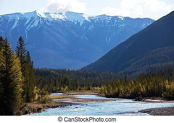 hory, kanadský