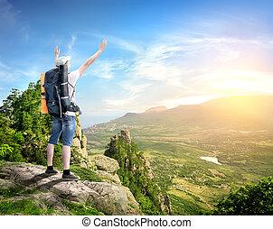 hory, turista