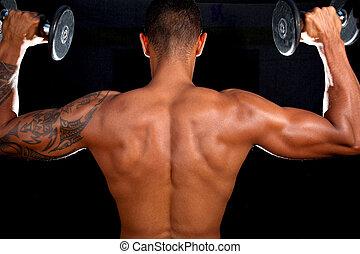 Houbový mužský model