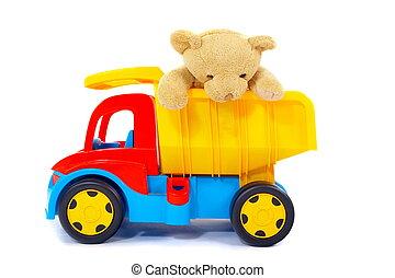 Hračka a náklaďák