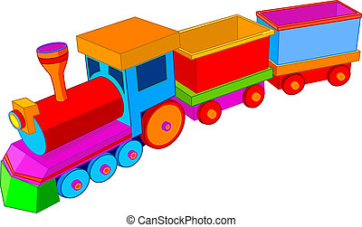 Hračkový vlak