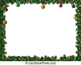 hraničit, vánoce