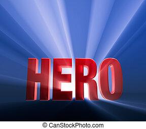 hrdina, drzý