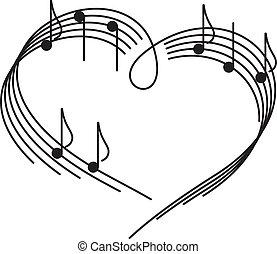 Hudba lásky.