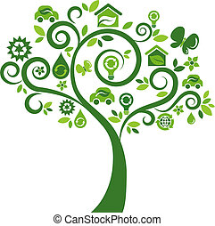 ikona, kopyto 2, -, ekologické