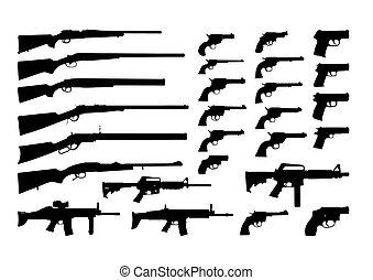 ikona, zbraňi