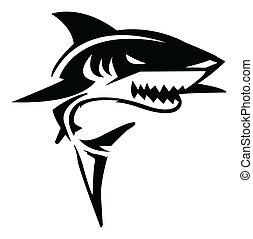 Ilustrace žraloků
