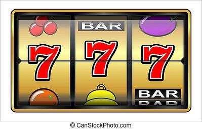 Ilustrace hazardu 777