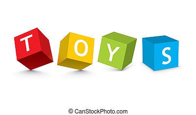 Ilustrace hraček