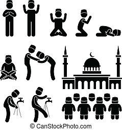 islám, kultura, muslim, náboženství