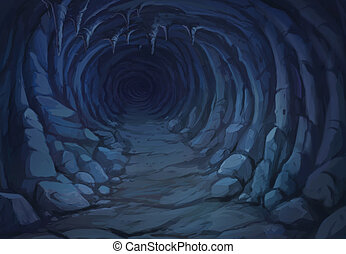 jádro, jeskyně, názor