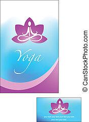 jóga, grafické pozadí