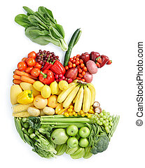 Jablko, zdravé jídlo