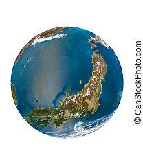 Japonská země