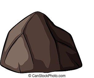 Jeden šedý kámen