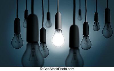 Jedna žárovka