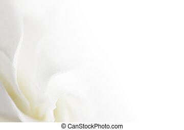 Jemné bílé květy