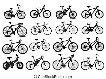 jezdit na kole, ikona