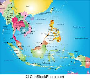 Jihovýchodní mapa