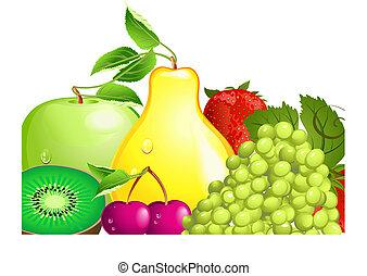 Juicy ovoce