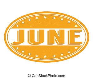 June razítko