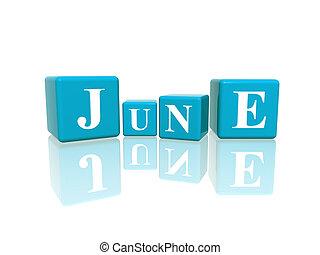June ve třech kubách