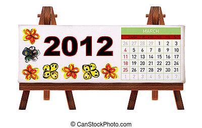 Kázový kalendář 2012