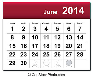Kázový kalendář June